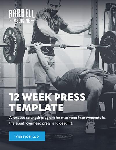 12 Week Press Template - Version 2 0